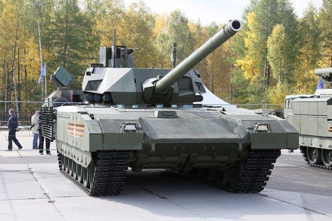 "Российский танк Т-14 ""Армата""."
