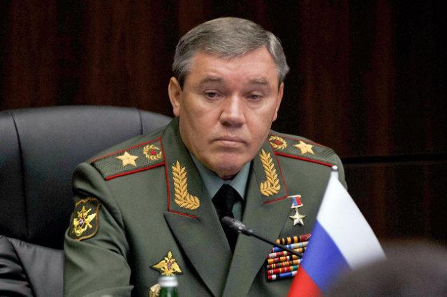 Начальник Генштаба ВС РФ Валерий Герасимов.