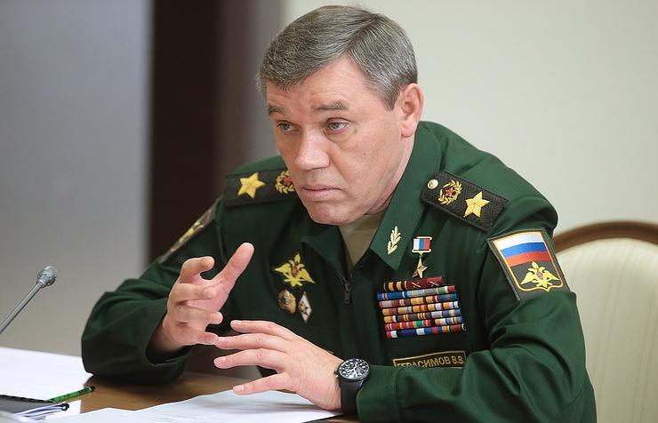 Начальник Генерального штаба Вооруженных сил РФ генерал армии Валерий Герасимов.