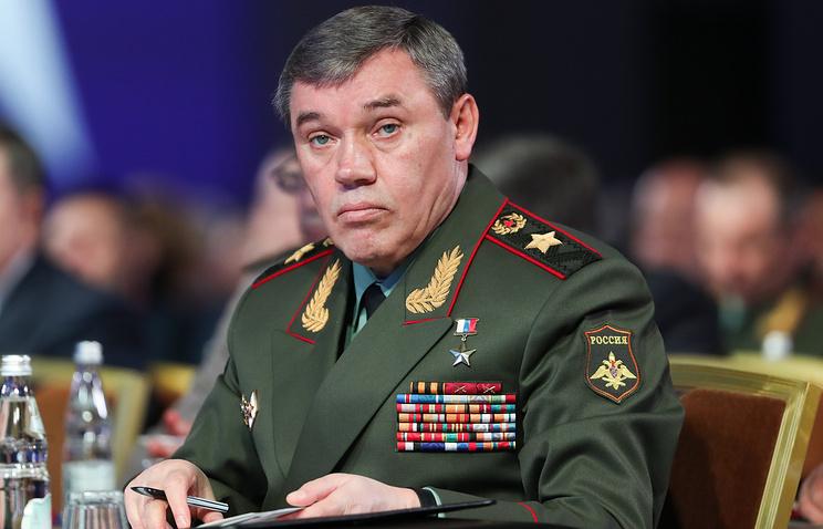 Начальник Генерального штаба ВС РФ Валерий Герасимов.