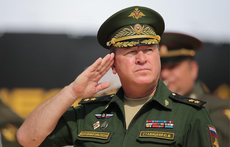 Начальник инженерных войск Вооруженных сил РФ генерал-лейтенант Юрий Ставицкий.