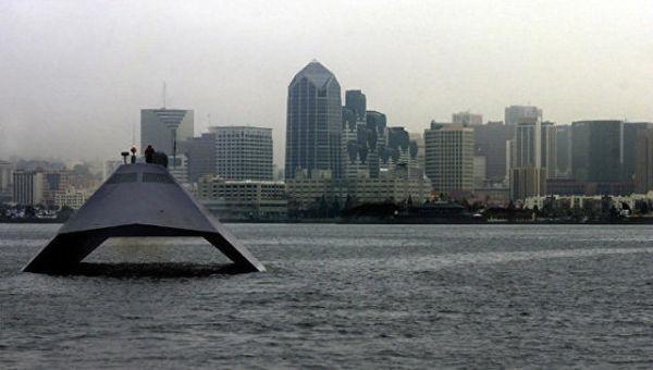 Надводный корабль Sea Shadow IX-529
