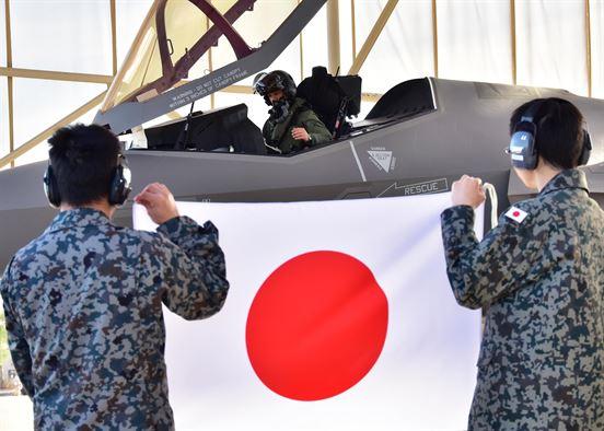 Накано Лас (Nakano las) пилот F-35 ВВС Японии
