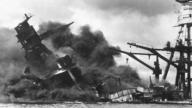 Нападение на Перл-Харбор, декабрь 1941 года Reuters