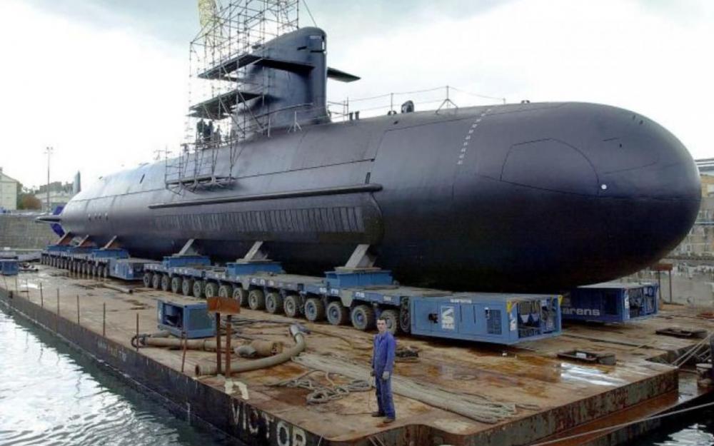 Неатомная подводная лодка типа Scorpène ВМС Малайзии.