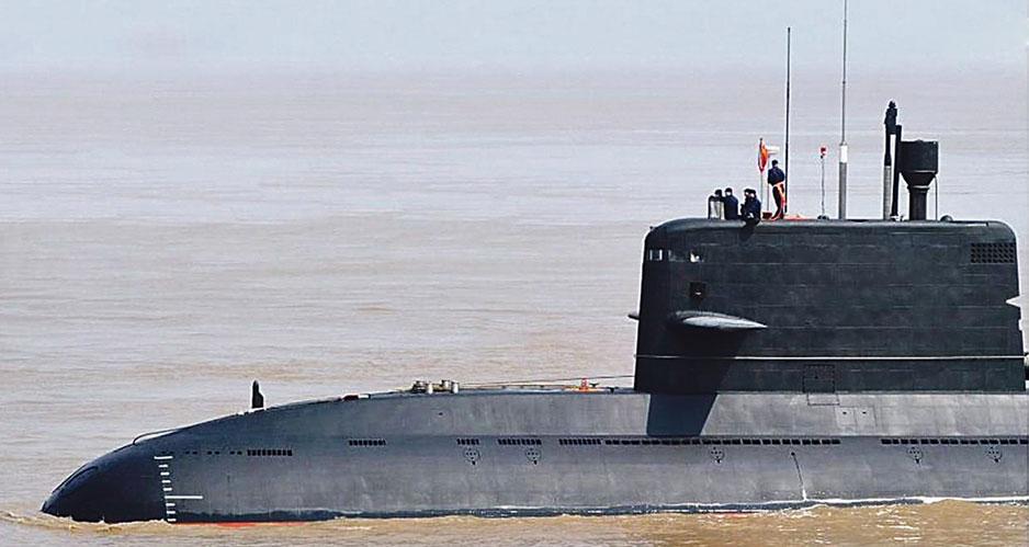 Китайская неатомная подводная лодка тип 041.