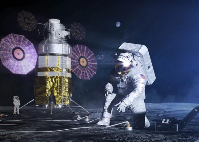 NASA оплатит разработку подпрыгивающего аппарата и сетей 4G для Луны