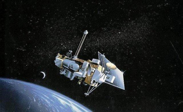 Научный спутник UARS (Upper atmosphere research satellite)