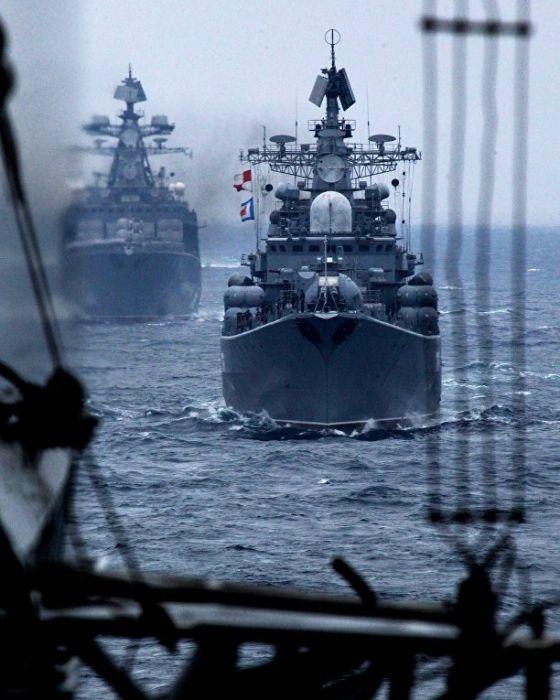 Корабли ТОФ