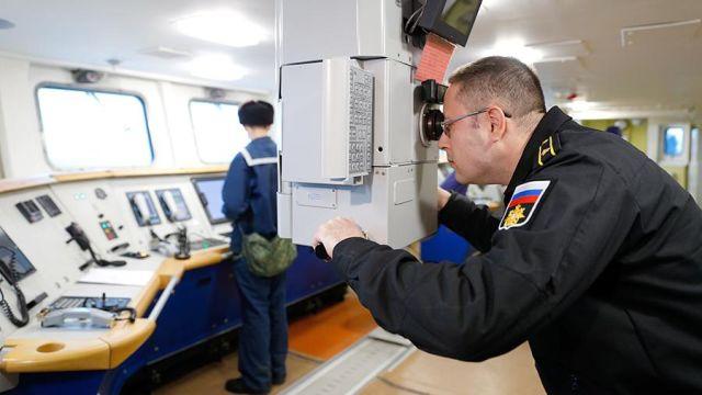 Военнослужащий ВМФ РФ