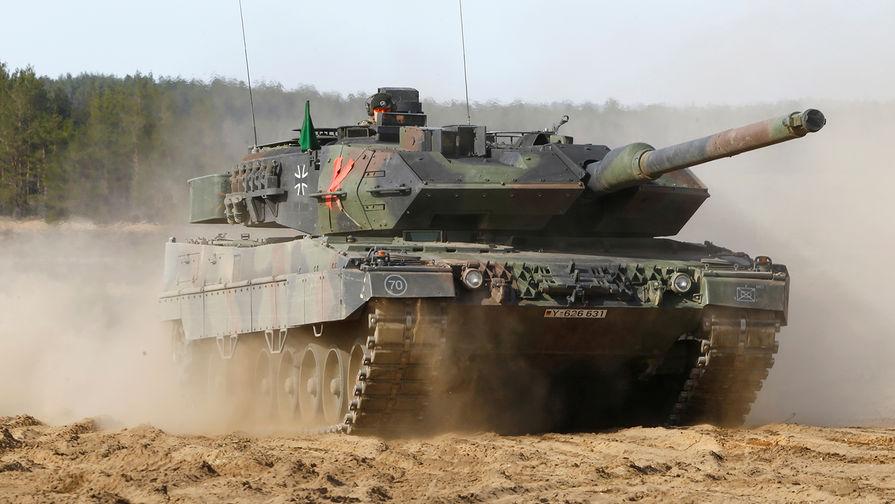 Немецкий боевой танк Leopard 2.