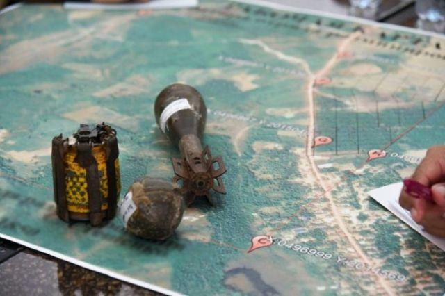 Неразорвавшиеся боеприпасы