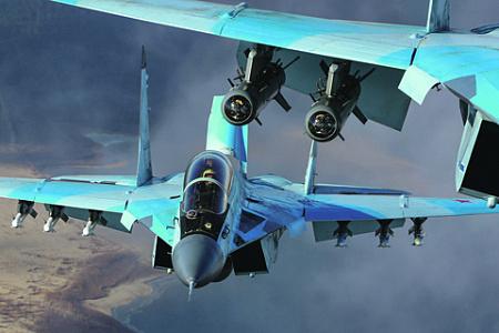 Несмотря на все перепетии, МиГ-29 занимает почетное место среди лучших истребителей мира. Фото с сайта www.mil.ru