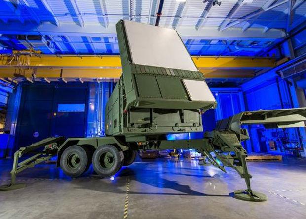 Радар Patriot, представленный Raytheon в 2016г.