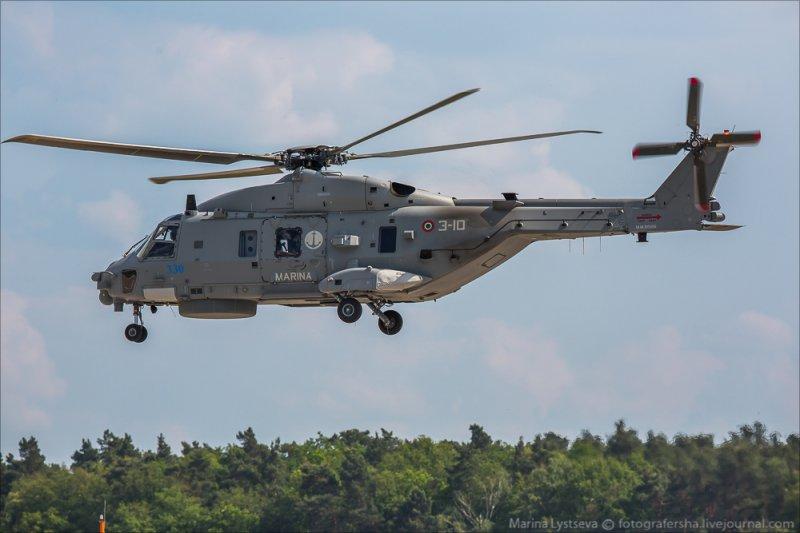 Вертолет NH90. Выставка ILA-2014.