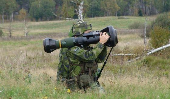 Противотанковый гранатомет NLAW