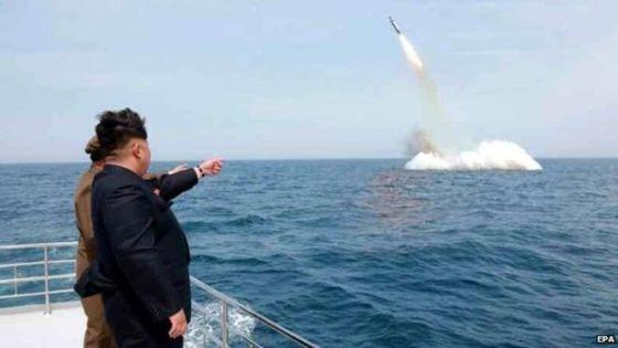 Пуск ракеты КНДР