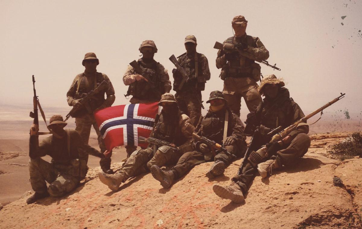 Норвежские добровольцы в Сирии.