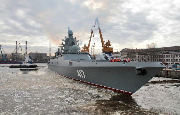 """Новейший фрегат """"Адмирал Горшков"""""""
