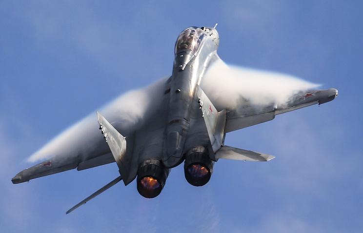 Российский многоцелевой истребитель поколения «4++» на базе МиГ-29 (НАТО - Fulcrum-F)