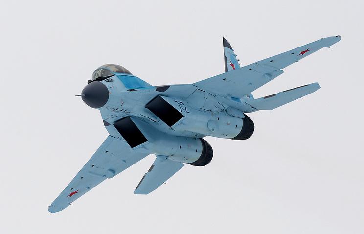 Новейший многоцелевой истребитель МиГ-35.
