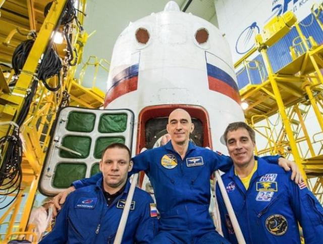 Экипаж «Союз МС-16»
