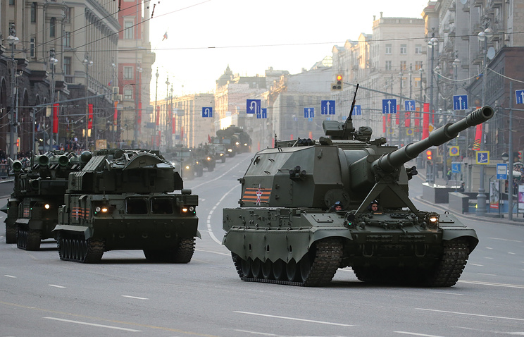 """Самоходная артиллерийская установка """"Коалиция-СВ""""."""