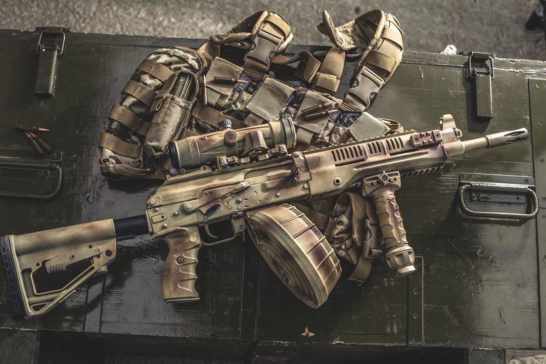 """Новый 5.45-мм ручной пулемет РПК-16 разработки АО """"Концерн """"Калашников""""."""