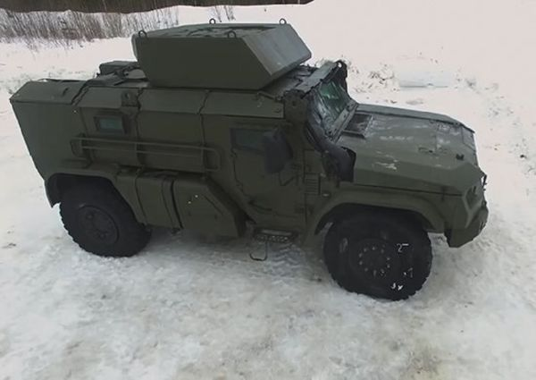 Новый бронеавтомобиль для ВДВ