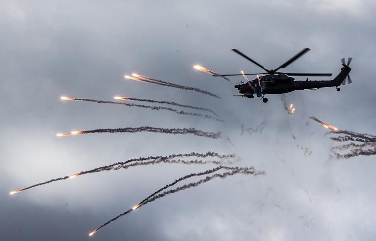 """Российский многоцелевой ударный вертолет """"Ночной охотник"""""""