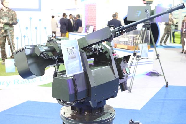 Дистанционно управляемый пулеметный модуль для основного боевого танка Arjun Mk II на основе пулемета НСВТ калибра 12,7.