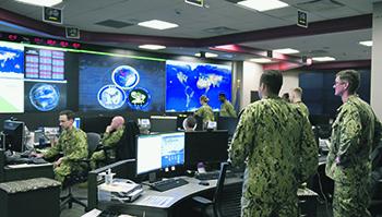 Нынешняя информационная война ведется в глобальной информационной среде. Фото с сайта www.navy.mil