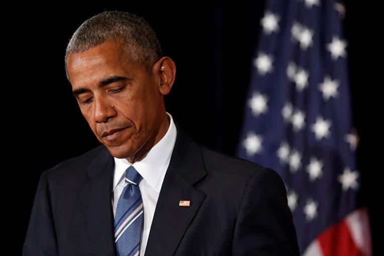 Президент США Барак Обама на саммите G20 в Ханчжоу.