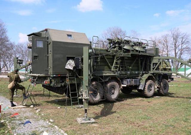 Военнослужащие-связисты ВС РФ