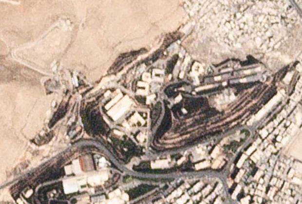 Объект в Дамаске (Сирия) за неделю до атаки, совершенной 14 апреля 2018г.