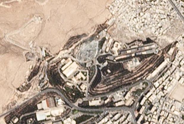 Объект в Дамаске (Сирия) после атаки, совершенной 14 апреля 2018г.