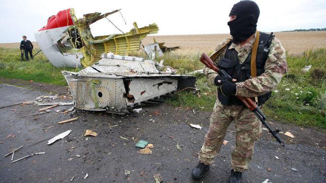 Обломки Boeing MH17