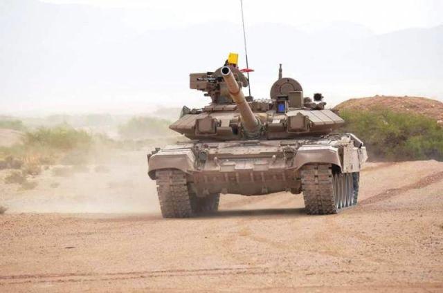 Танк Т-90СА ВС Алжира
