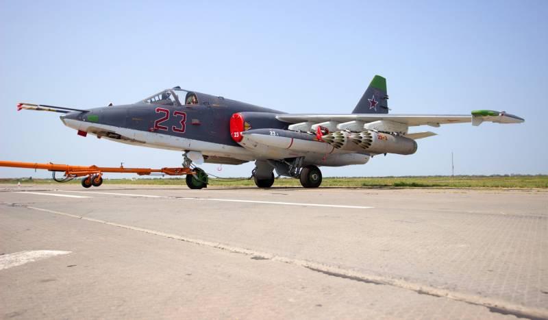Самолет Су-25СМ3.
