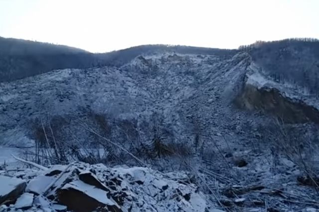 Обрушение скального массива