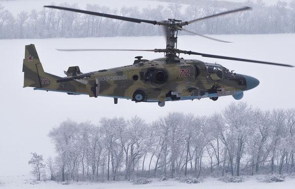 Ударный вертолет Ка-52