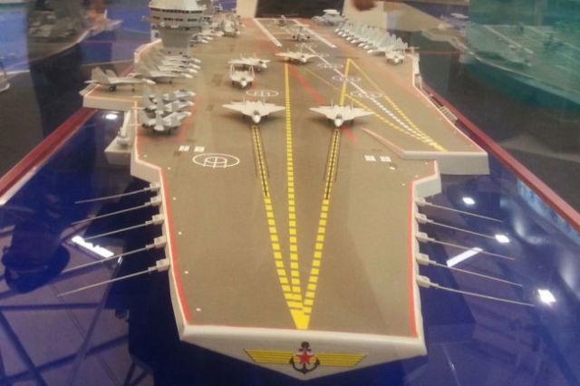 Один из проектов первого российского атомного авианосца, предложенный отечественными судостроителями.