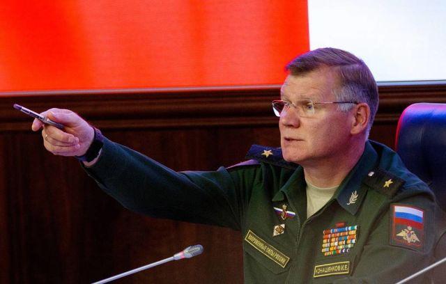 Официальный представитель Минобороны РФ Игорь Конашенков