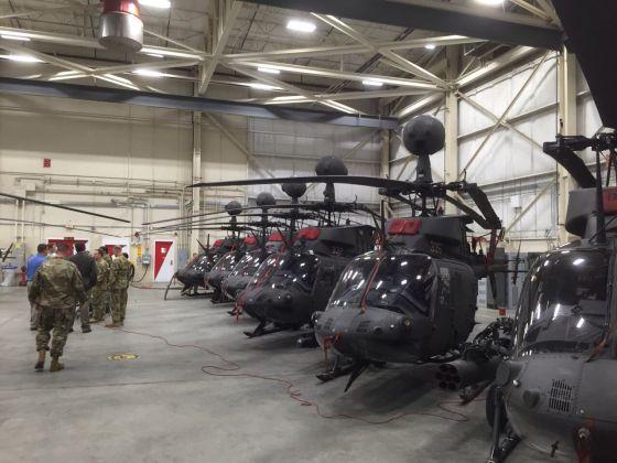 Вертолеты OH-58D
