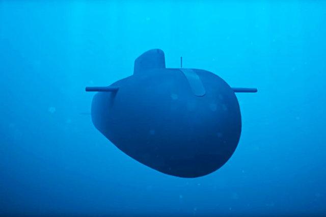 """Океанская многоцелевая система """"Посейдон"""" - принципиально новый вид подводного оружия."""