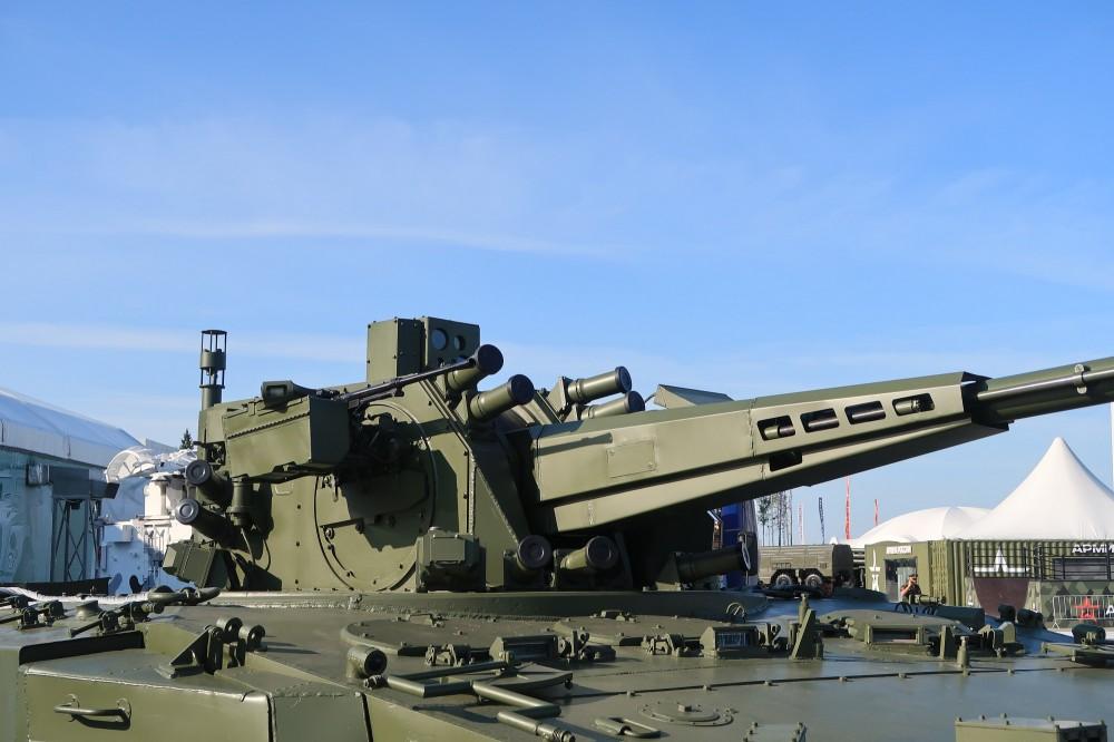 В России начались испытания управляемых снарядов для зенитной самоходки