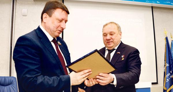 Олег Лавричев и Владимир Шаманов