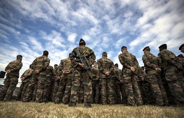 Военнослужащие ВС Франции