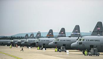Опорный пункт ВВС США в Германии – авиабаза Рамштайн. Фото с сайта www.dvidshub.net