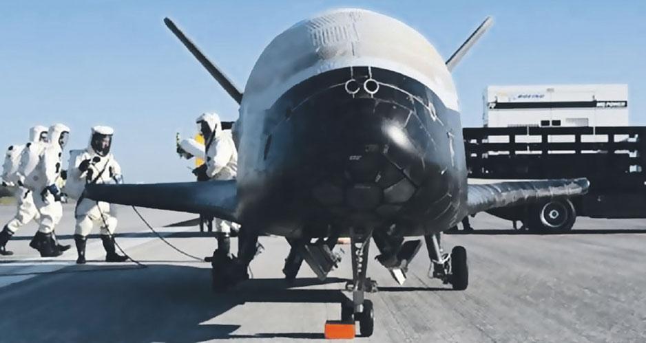 Воздушно-космический самолет Х-37.